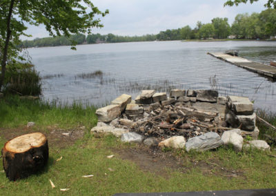 moira-lake-cottages-fire-pit