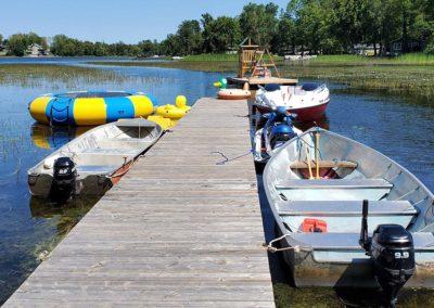 Moira-Lake-Cottages-Dockage