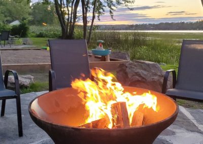 Moira-Lake-Cottages-Dockage-Firepits